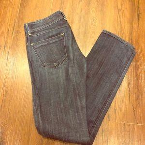 AG dark wash denim jeans